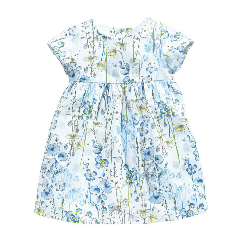 Floral Printed Girl Dress