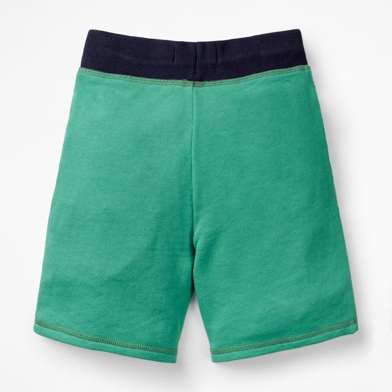 Green dinosaur boys shorts00001