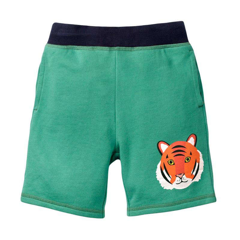 Green dinosaur boys shorts00002