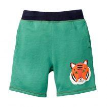 Green dinosaur boys shorts00004