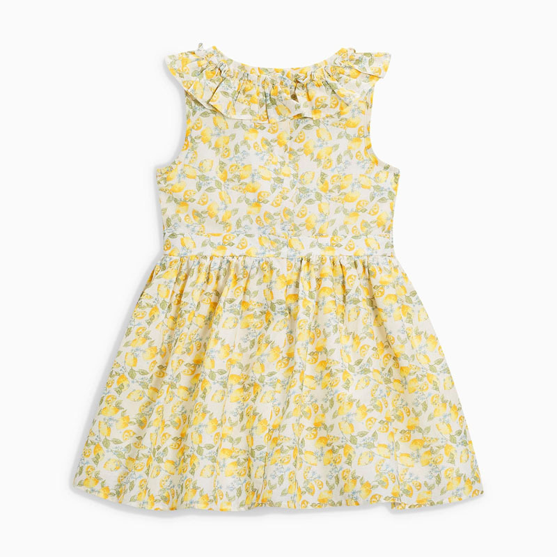 flowered baby dress