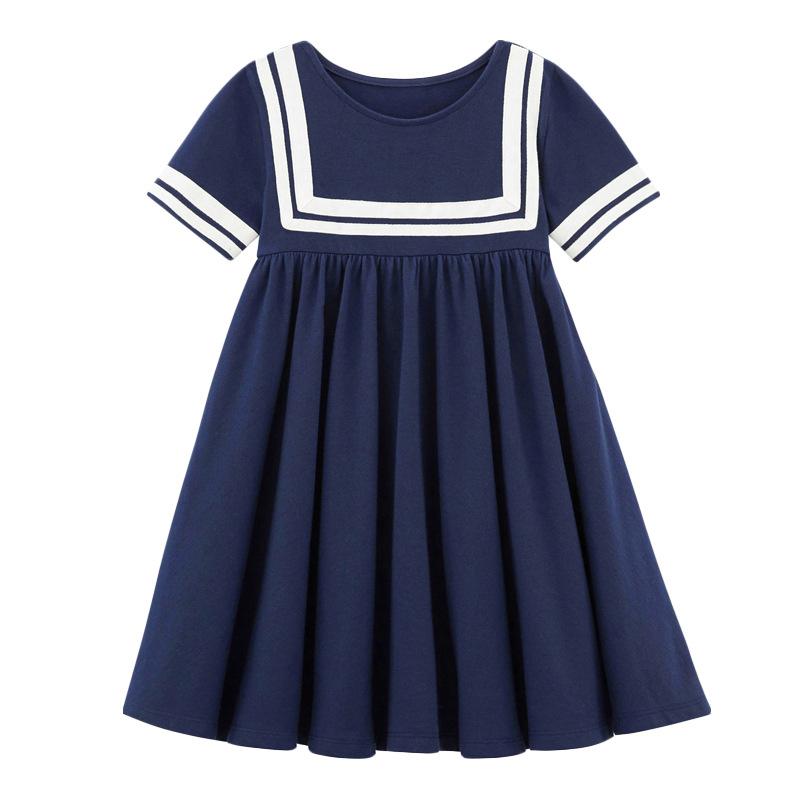Girl Navy Dress