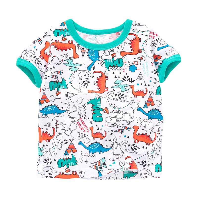 dinosaur world Baby and Toddler T-Shirt and Mesh Shorts Set