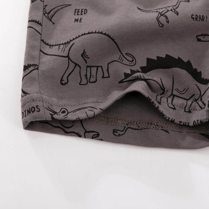 Grey color Baby and Toddler T-Shirt and Mesh Shorts Set