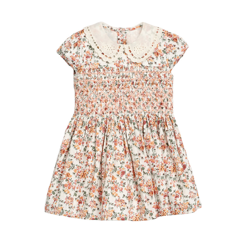 Girls Printed Sleeveless Dress
