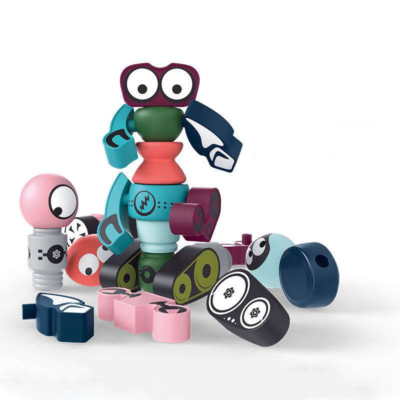Magnetic Blocks 0-3 Years Old Toys