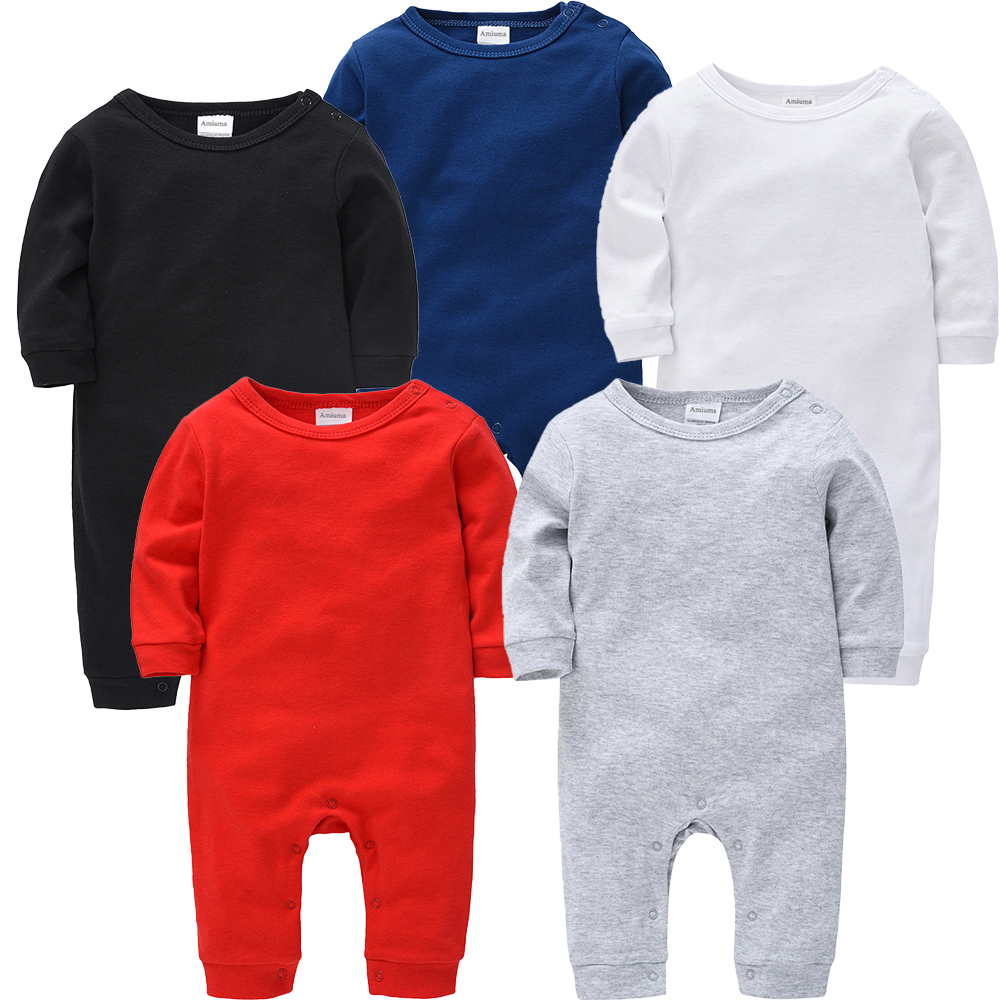 Personalized Baby Rompers Long sleeves