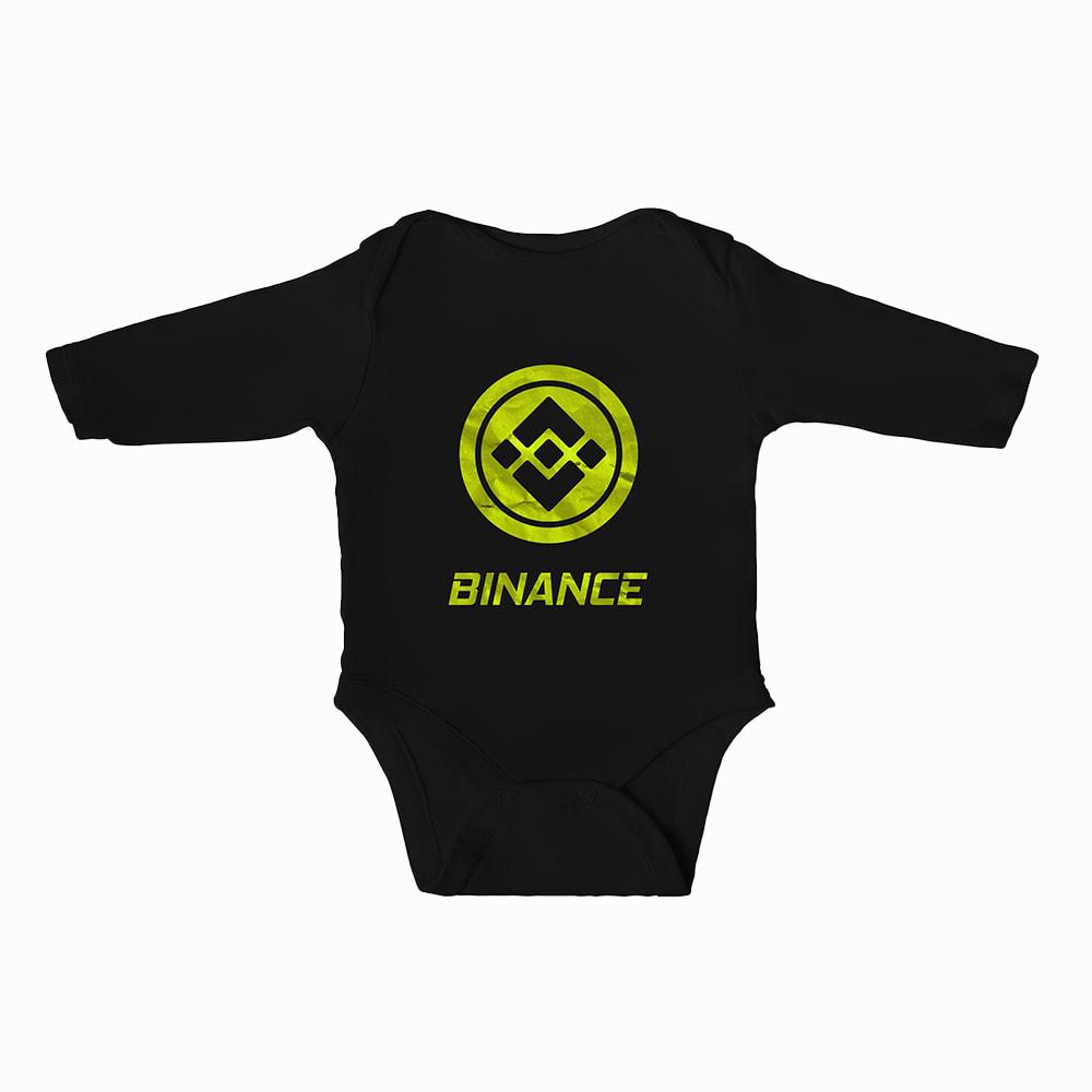 Binance Baby Boys Bodysuit Long Sleeves