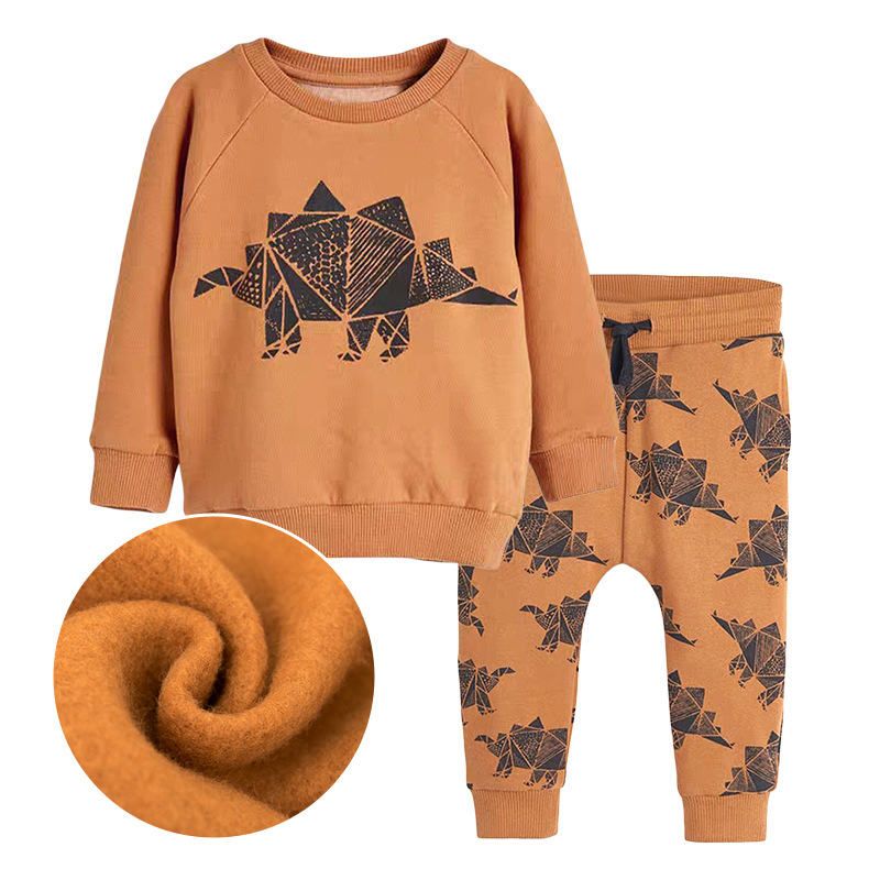 Boys Stegosuarus Outfits Autumn Long-sleeved Boys Suit