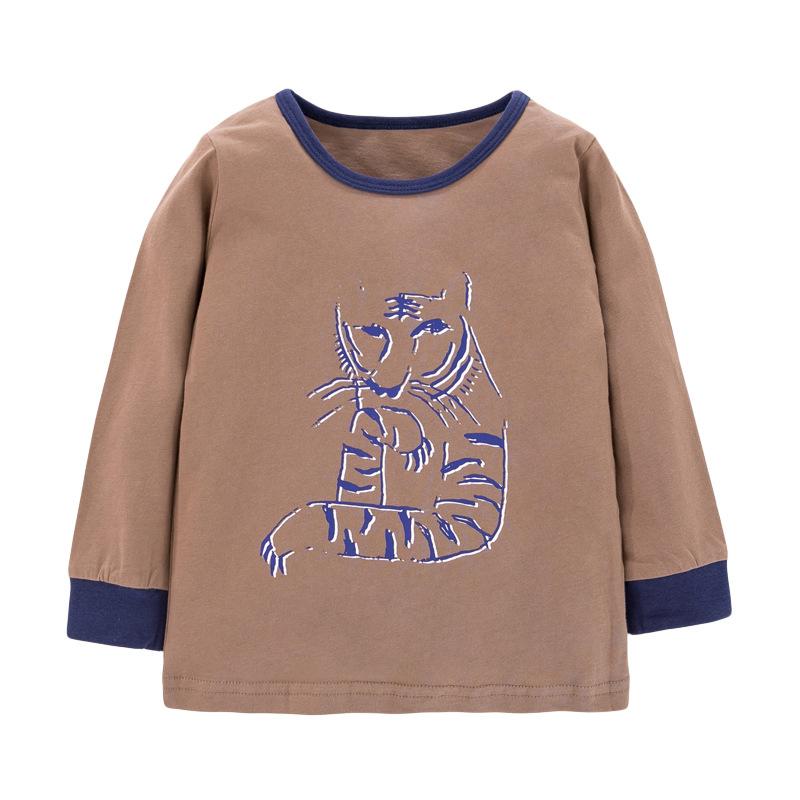Boys Autumn Long-sleeved  Grey Sweatshirts