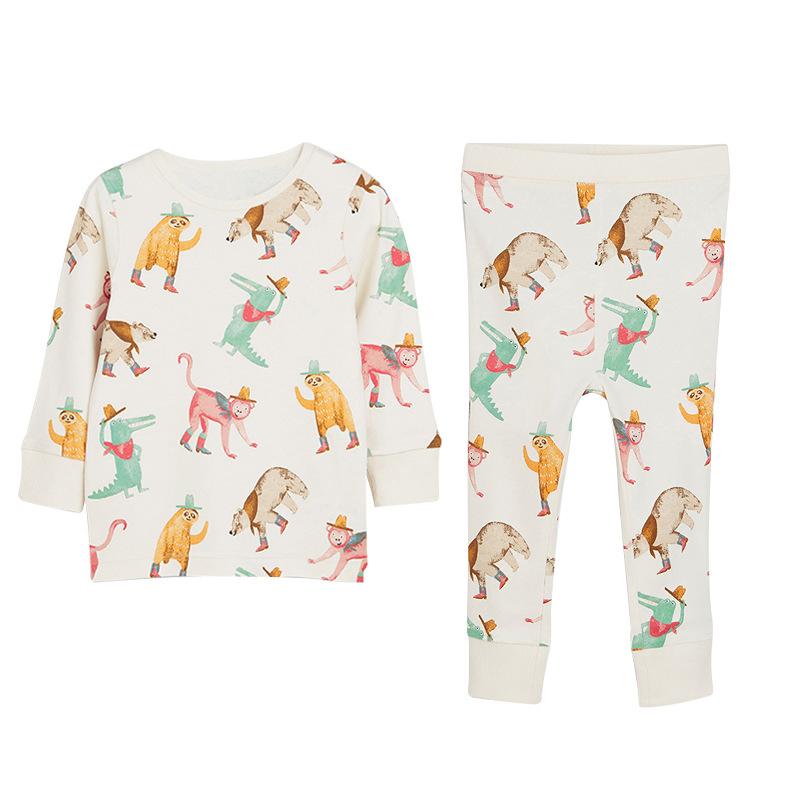 Boys Animals Pattern Pajamas