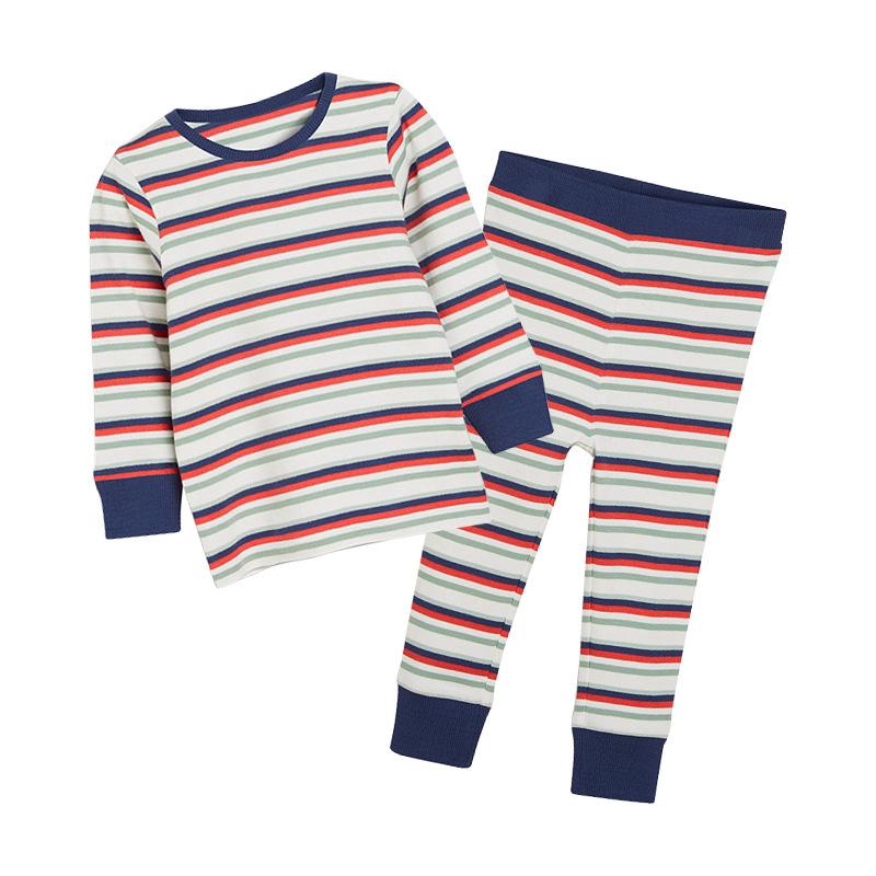 Boys Striped Pajamas
