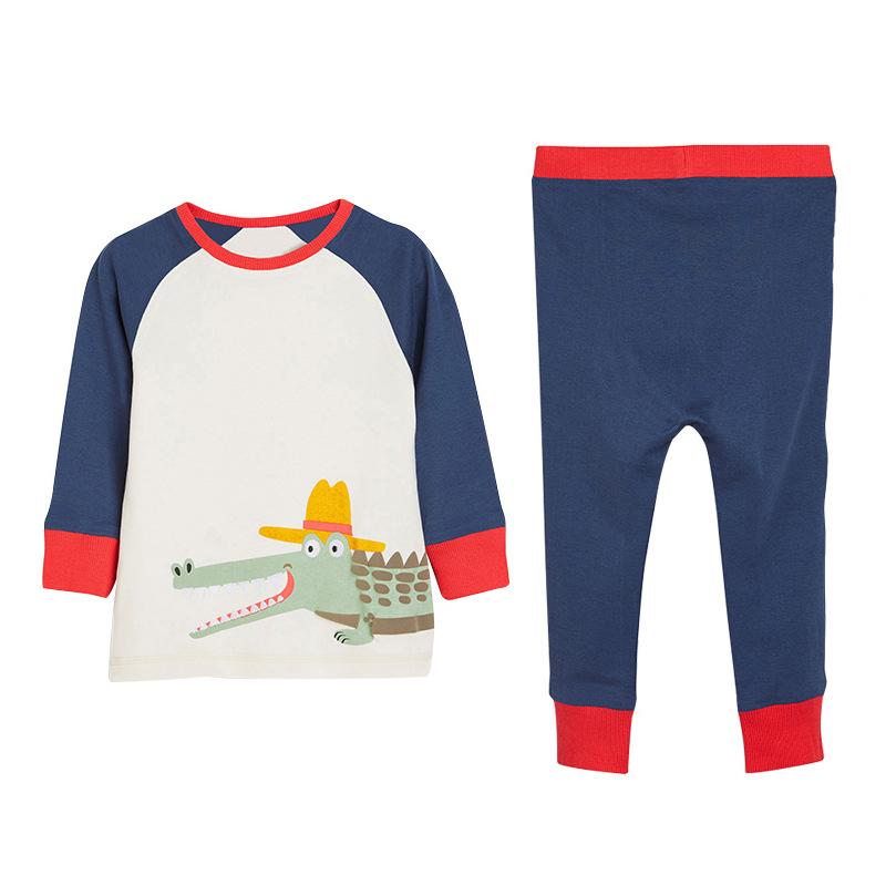 Boys  Pajamas with Dinosaur Pattern