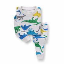 Boys pajamas wearing in fall , Spring, printed cartoon long sleeves tops and long pants,trousers