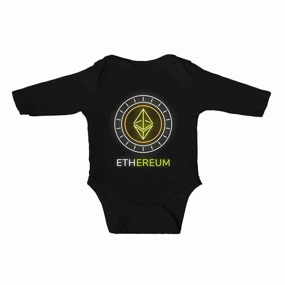 Ethereum Baby Boys Bodysuit Long Sleeves