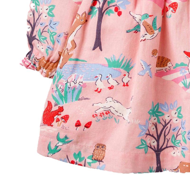 Girls long sleeves dress
