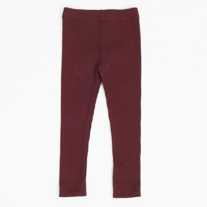 Girls Thread Leggings Autumn and Winter Elastic Trend Children's Pants Little Girl Pants