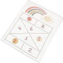 numberal game playing mat1
